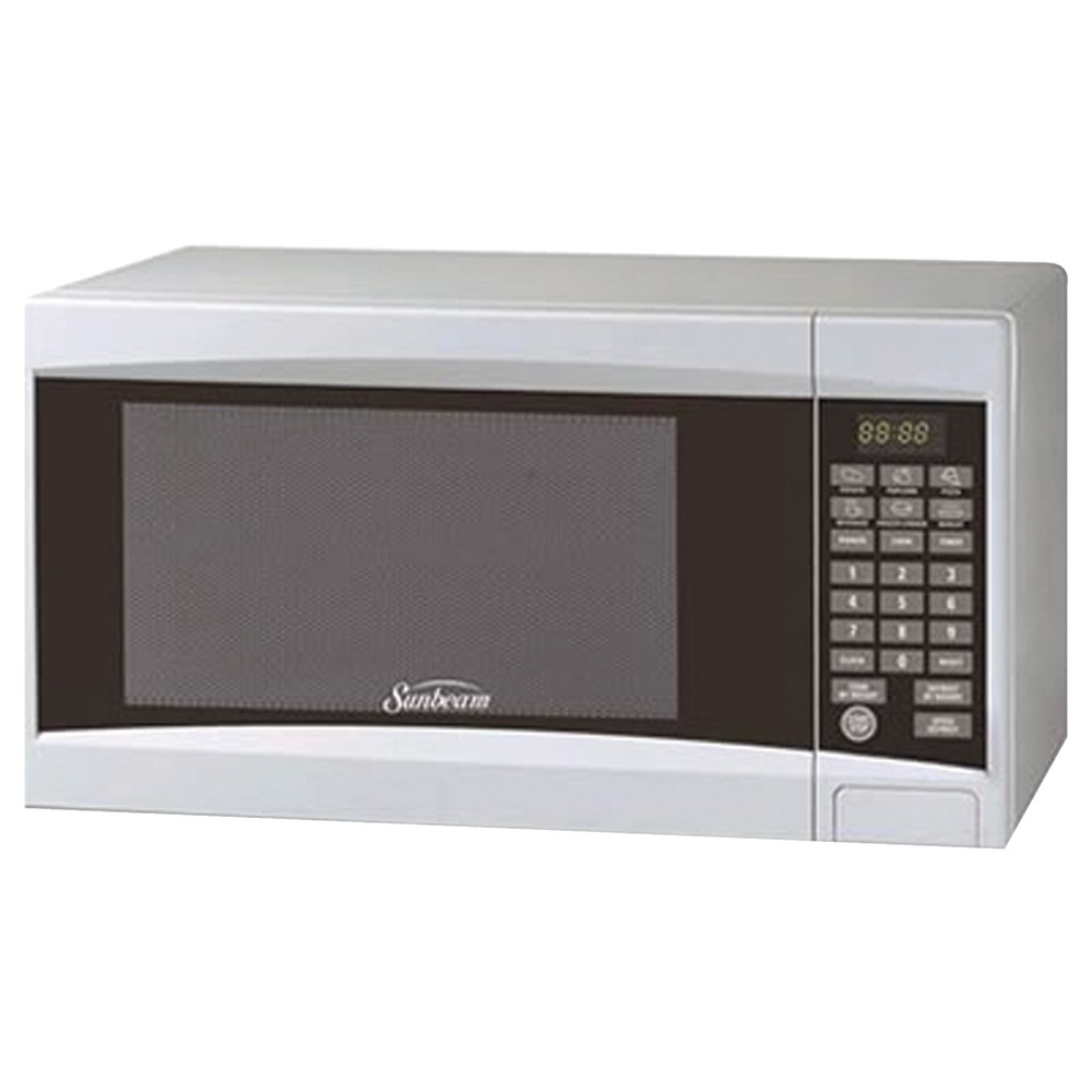 SUNBEAM SGD-2701 .7 Cubic-ft Digital Microwave (White)