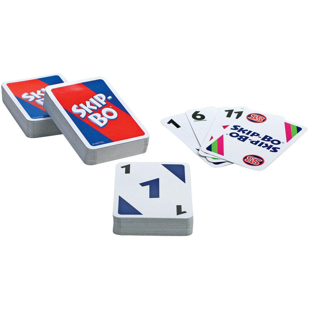 Mattel 42050 SKIP-BO(R) Card Game