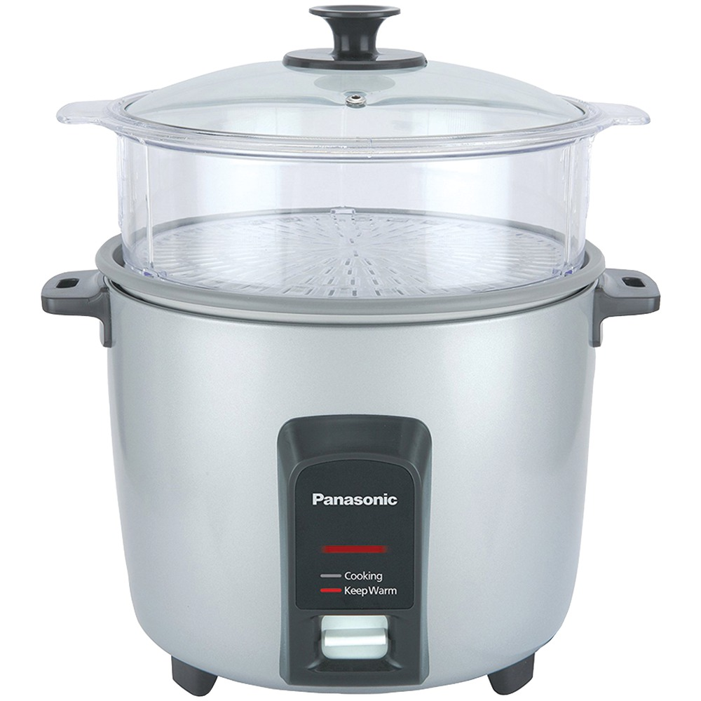 PANASONIC SR-Y22FGJL 12-Cup Automatic Rice Cooker (Silver)