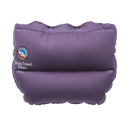Deluxe Travel Pillow Eggplant