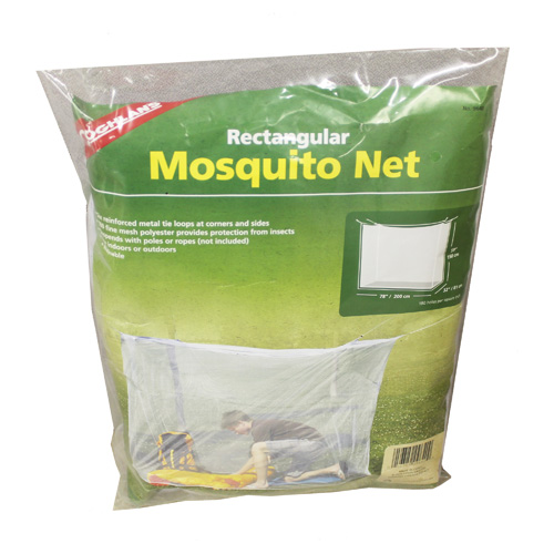 Mosquito Net - Single - White