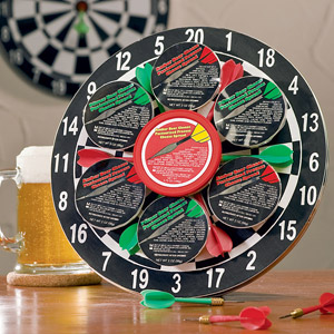 Bullseye Treats Dart Board (Med)