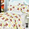 Blancho Bedding - [Apple Letter] 100% Cotton 5PC Comforter Set (King Size)