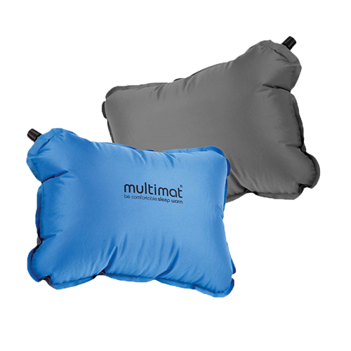 Multimat Camper Pillow Blue / Grey