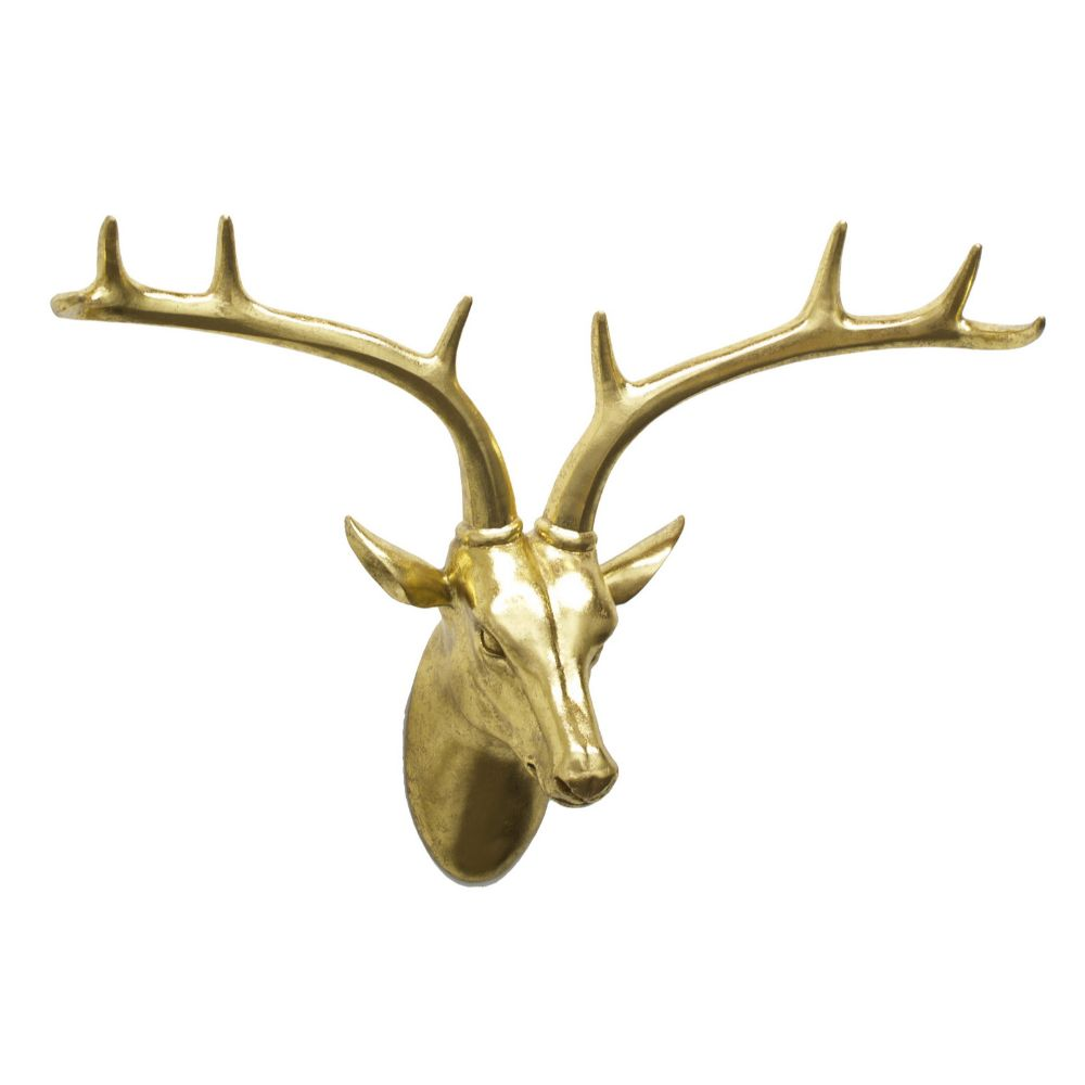 """""Benzara 35591 resin deer wall decor"