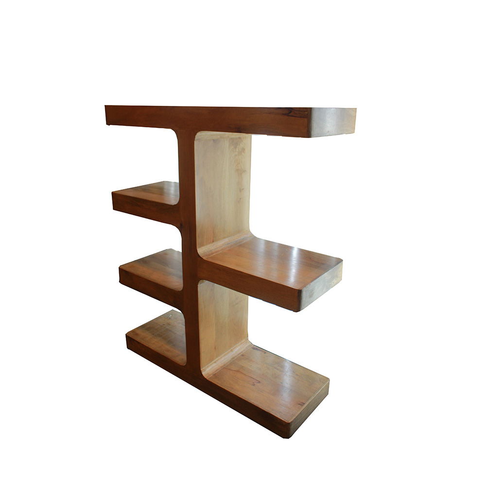 The  Brand Trendy Wooden Display Shelf